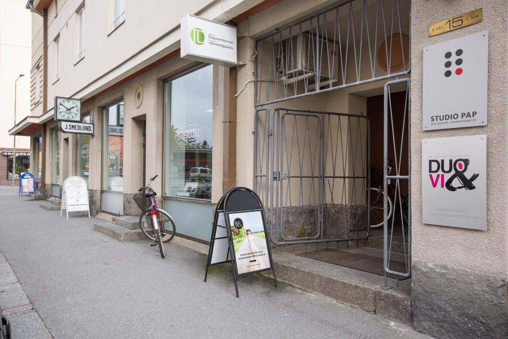 Affärslokaler Storgatan Jakobstad